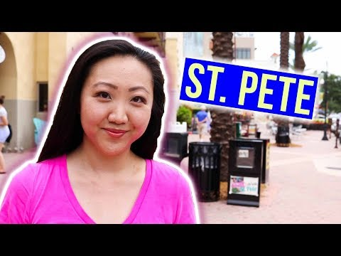What's It Like Living in Florida? 🌴🌊 Downtown St. Petersburg Tour ☀️ JEN TALKS FOREVER