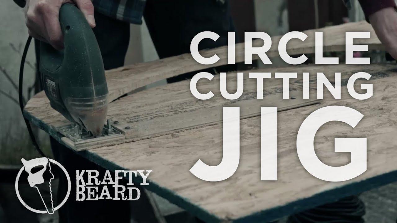 Cutting Perfect Circles With The Krafty Beard Circle Jig