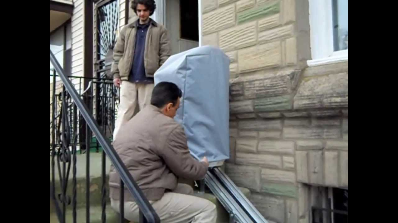 Outdoor stair lift - How To Use An Ameriglide Deluxe Outdoor Stair Lift Outdoor Stair Lift