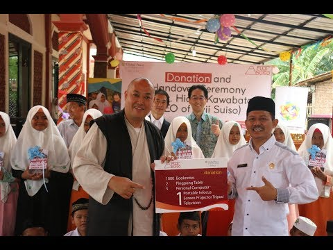 GPF Indonesia in Collaboration with Fuji Suiso Raising Education Quality in Islamic Boarding School