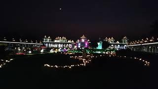 BAPS Swaminarayan Temple, Diwali Lighting 2017, Sankari, Gujarat
