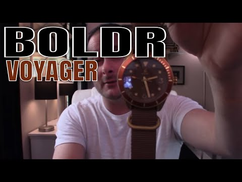 Watch Review : Boldr Watches : Voyager Caspian Watch Review