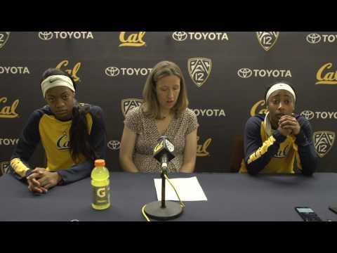 Cal Women's Basketball: Arizona Post-Game Press Conference (1/22/17)