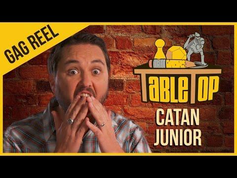 Catan Junior - Gag Reel - TableTop Season 3 Ep. 3