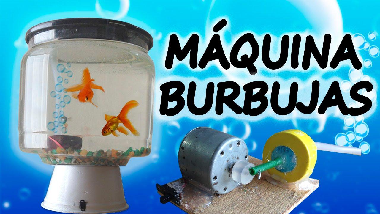 Como hacer una bomba de aire para acuarios caseros youtube for Como hacer un criadero de peces en casa