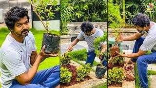 😍Thalapathy Vijay Accepts Mahesh Babu Challenge | Green India, Master, Vijay Sethupathi | Tamil News
