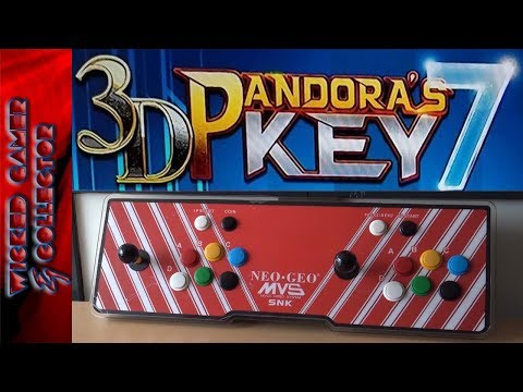 Pandora's Key 7 / 2177 In 1 / Ultimate  TV Game Box Arcade 2D & 3D Duo Fightstick Gaming Console