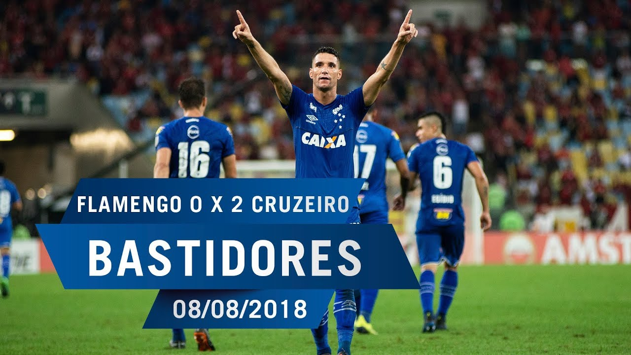 b53d8230bf 08 08 2018 - Bastidores - Flamengo 0 x 2 Cruzeiro - YouTube