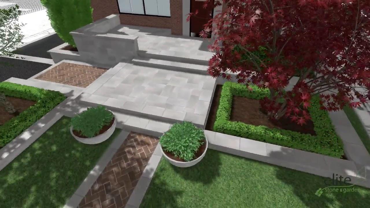 Elite Stone & Garden - Rosedale Heritage Design - YouTube
