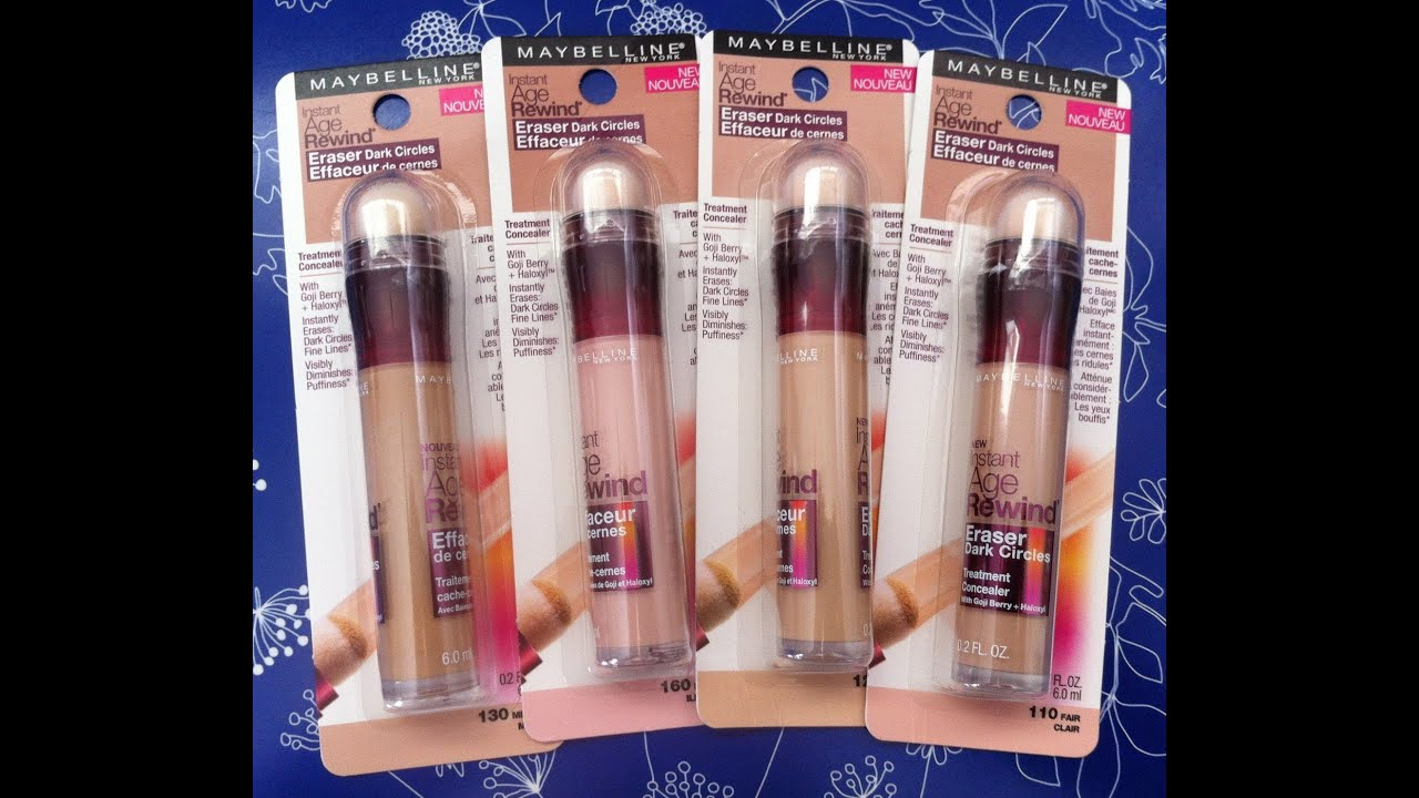 Hot or Not: Review Maybelline Age Rewind concealer medium..