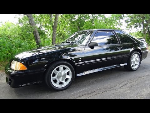 1993 Ford Mustang Svt Cobra Foxbody 5 0 Classic Pony Car Youtube