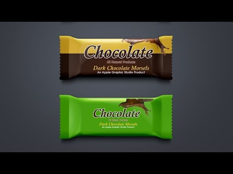 Product Packaging Design Tutorial in Photoshop - Chocolate Box