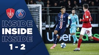 VIDEO: INSIDE : BREST vs PARIS SAINT-GERMAIN