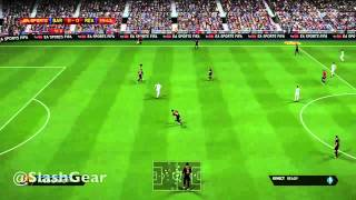 FIFA 14 gameplay hands-on for Xbox One