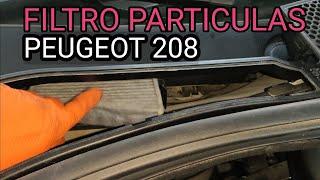 FILTRO POLEN o PARTÍCULAS PEUGEOT 208