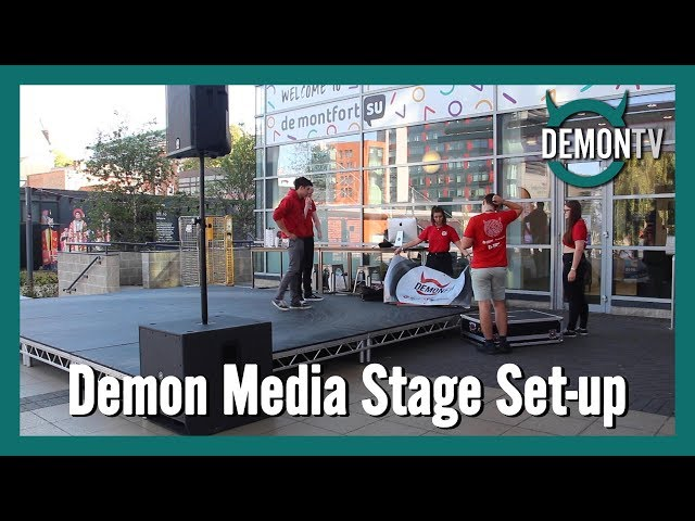 Demon Media Stage Timelapse