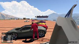 Corre o te atropello!!!!!!!  GTA 5 Online