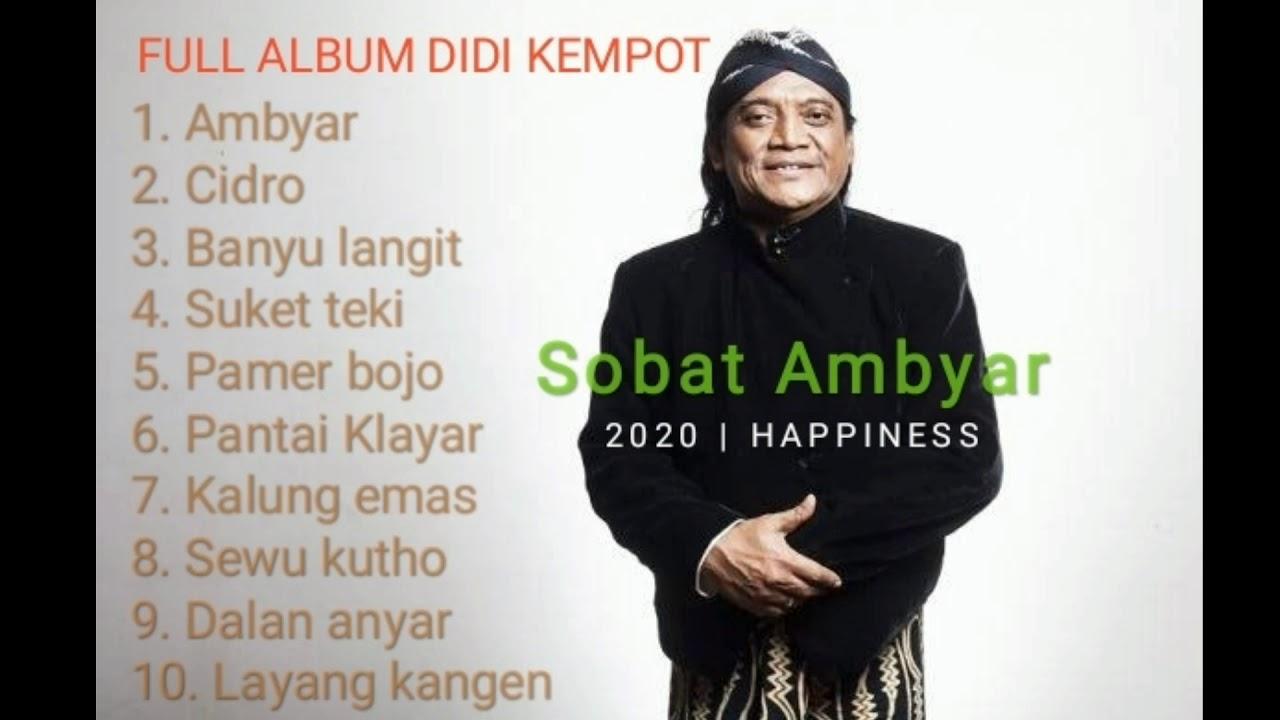 Full Album Didi Kempot 2020 Paling Ambyar Youtube