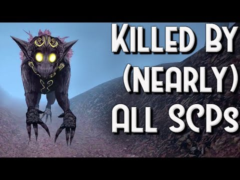 Getting Killed By (nearly?) All SCPs - SCP Containment Breach (v1.3.7)