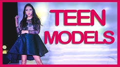 Best TEEN MODELS catwalks - venezuelan girls