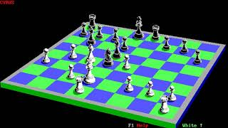 Cyrus (Intelligent Chess Software) (MS-DOS) [1985] [PC Longplay]