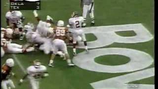 Oklahoma Sooners vs. Texas Longhorns - 1997 - Football