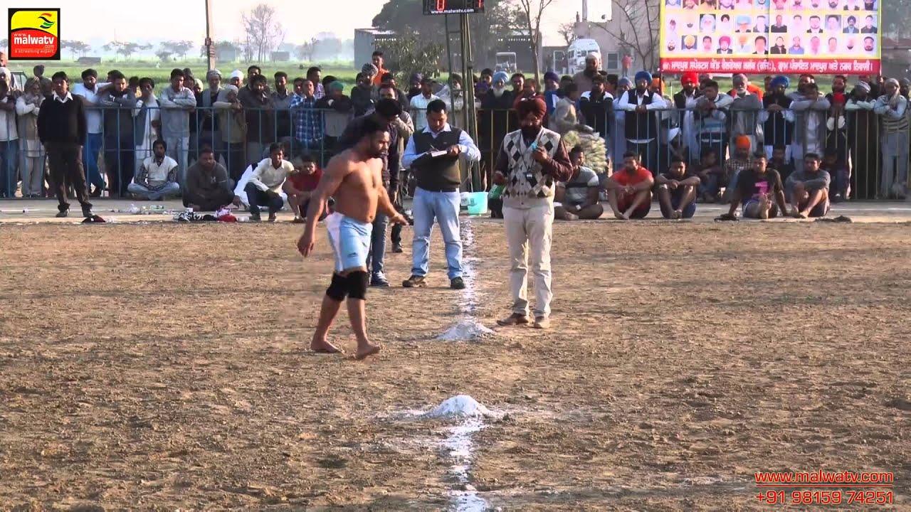 MADPUR (Ludhiana) KABADDI CUP - 2015 || SEMI - FINALS & FINAL || Full HD || Part 2nd.