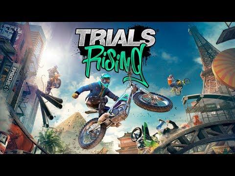 ¡Esa moto va sola XD! - Trials Rising (PC) con Naishys
