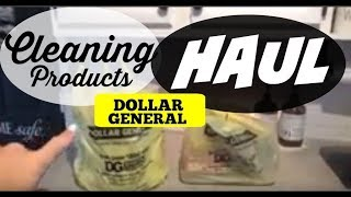 DOLLAR GENERAL CLEANING PRODUCTS HAUL / CLEANING PRODUCTS HAUL/ HAUL 2018