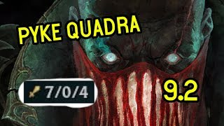 EVERY GAME IS WINNABLE - QUADRA PYKE SUPPORT - League of legends