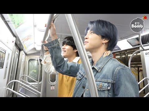Bangtan Bomb Tonight Show Subway   Bts 방탄소년단