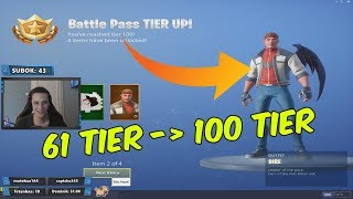 HUGE TIER BUG IN FORTNITZ!!!! * 35 TIER FREE *