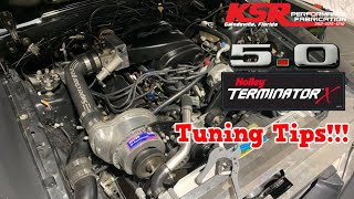 KSR How To: Holley Terminator X 5.0 Mustang Tuning Tips