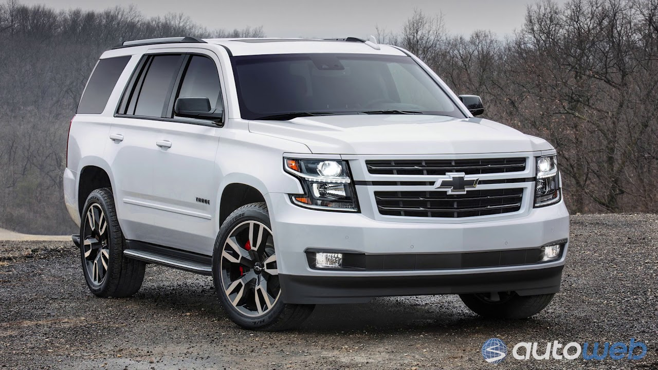 Best Large SUV: 2018 Chevrolet Tahoe - AutoWeb Buyer's ...