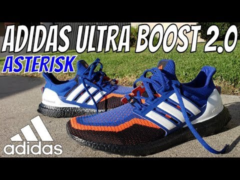 premium selection bfaed a89ce ADIDAS ULTRA BOOST 2.0 ASTERISK SNEAKER REVIEW + ON FEET