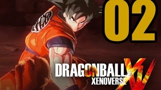 Dragon Ball XenoVerse Gameplay Walkthrough - Part 2: Exploring Toki Toki