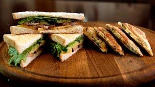 Сэндвичи с уткой и сыром