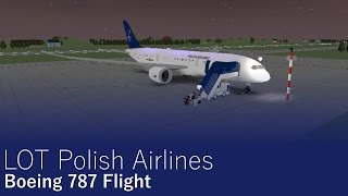 LOT Polish AirLines (ROBLOX) Airlines A350 XWB