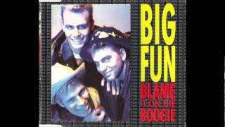 Big Fun - Blame It On The Boogie (PWL Extended Mix)