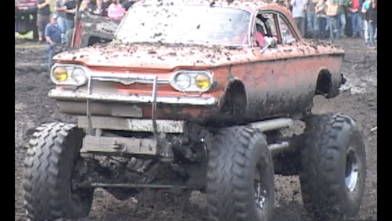 Lifted Muscle Car Boggers- Perkins 6/2/2012 - YouTube