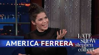 America Ferrera's Busy 2018: Pregnancy And The 'Time's Up' Movement
