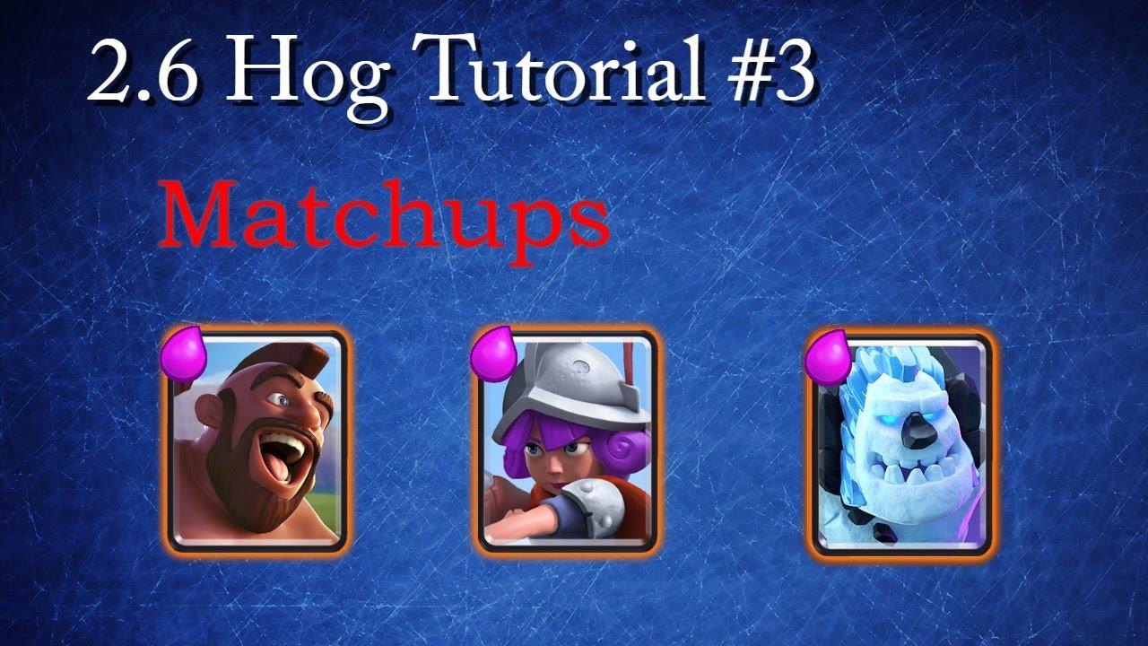 [Tutorial] 2.6 Hog Tutorial #3 - YouTube