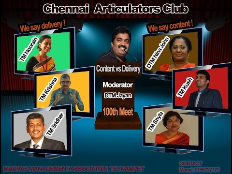 """Content vs Delivery"" 