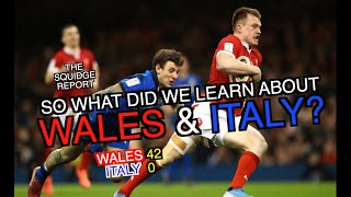 So what did we learn about Wales and Italy The Squidge Report Six Nations 2020