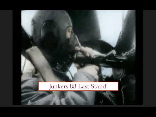 Junkers 88 Last Stand! Crashed German Bomber Wouldn't Surrender