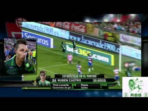 Granada Betis 0 1 27.8.2011 Liga BBVA  Comentando el gol Ruben Castro pase Jonathan Pereira