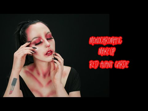 Monochrome Makeup: Red | Avant Garde Makeup Tutorial | MakeupbyAlyssaMUA