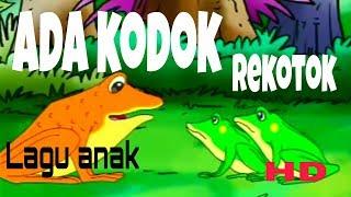 ADA KODOK DIPINGGIR KALI | KODOK DAN SEMUT | LAGU ANAK INDONESIA POPULER