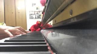 ROTTENGRAFFTYさんの金色グラフティーをピアノで弾いてみました。