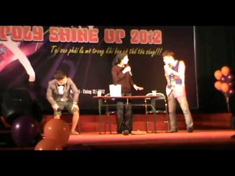 [FPT Polytechnic]- Poly Shine Up 2012 Cười ngiêng ngả với màn kịch kén rể của sinh viên CNTT